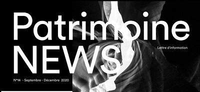 Newsletter patrimoniale – septembre / décembre 2020